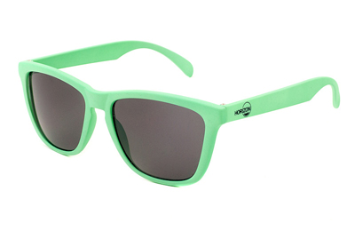 Horizon Mint Green / Smoke Classics Sunglasses | Mint Green / Smoke Premium Sunglasses, Mint Green Wayfarer Style for the Jessica Abel look | Custom Sunglasses | Mirrored Sunglasses | Wayfarer | Wayfarer Sunglasses | Cheap Sunglasses