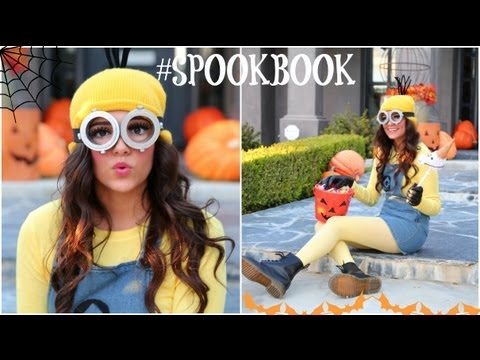 DIY Despicable Me Minion Costume   Makeup! - YouTube