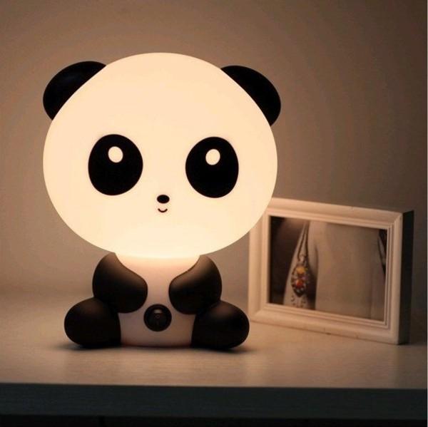 panda cute asian home accessory lamp kids room kawaii kawaii accessory home furniture teddy bear funny tumblr instagram pink pinterest girly cool night light light