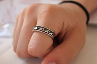 jewels ring waves beachy waves jewelry