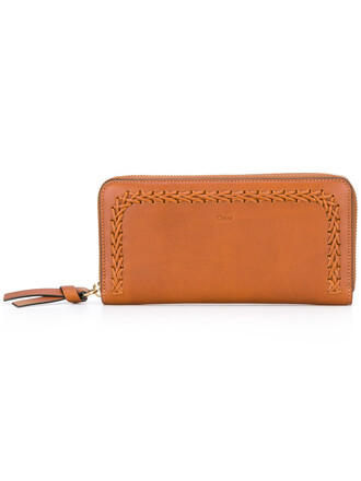 women weave purse leather cotton brown bag