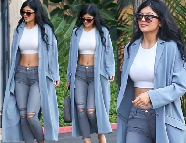 coat kylie jenner outfit