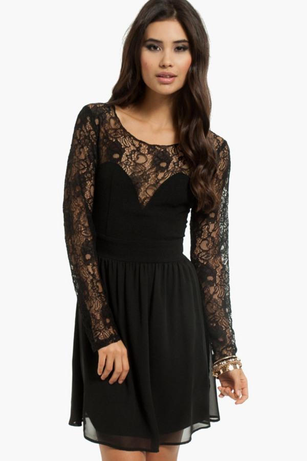 Sweethearts Lace Dress - TOBI