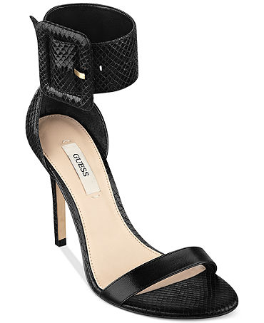 GUESS Odeum Two Piece Sandals - Women - Macy's