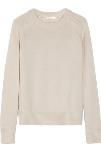 Chloé Wool and cashmere-blend sweater NET-A-PORTER.COM