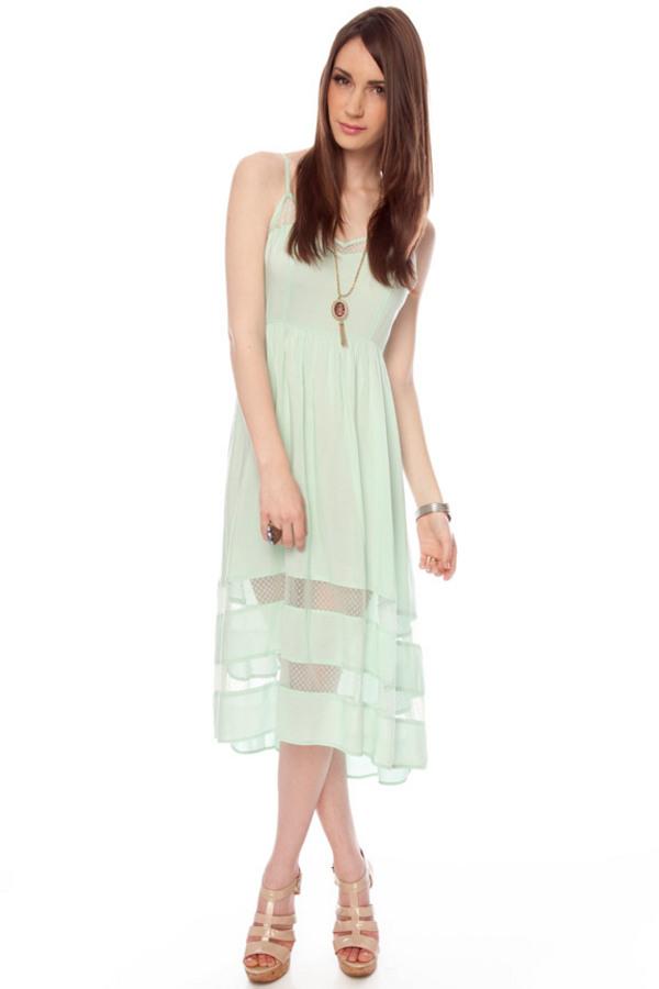 Nameless Tiara Lacey Cami Dress - TOBI