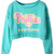 ROMWE | Phillies Print Green Sweatshirt, The Latest Street Fashion