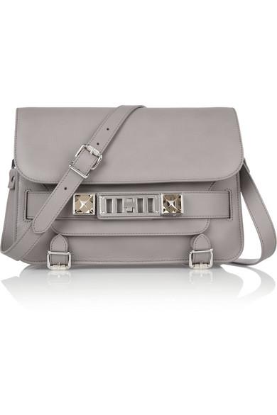 Proenza Schouler|The PS11 Classic textured-leather shoulder bag |NET-A-PORTER.COM