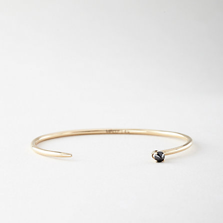 ANDY HEART CUFF BLACK DIAMOND - Steven Alan