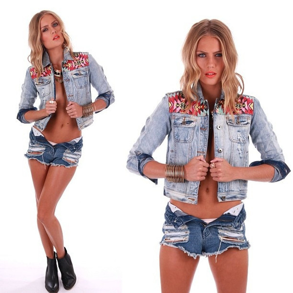 All or nothing Denmin jacket - One hot mamma