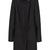 ROMWE   Buckled Slim Sheer Black Trench Coat, The Latest Street Fashion