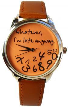 Наручные часы ZIZ «Late». Купить авторские наручные часы ZIZ «Whatever, I`m late anyway» с доставкой по Украине.