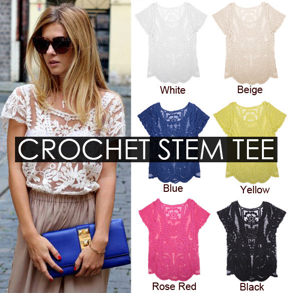 Crochet Stem Tee | Outfit Made
