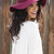 Floppy Sun Hat-Burgundy | Obsezz
