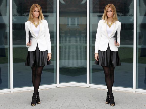 beauty fashion shopping skirt jacket shoes bag t-shirt jewels
