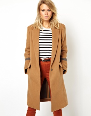 ASOS | ASOS Knee Length Over Coat at ASOS