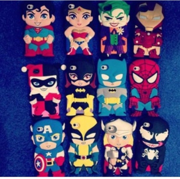 jewels superheroes iphone cover phone cover iphone case