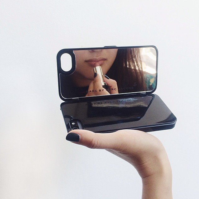 Fancy - Compact Mirror iPhone Case by Marc By Marc Jacobs