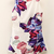 White Sleeveless Floral Backless Jumpsuit - Sheinside.com