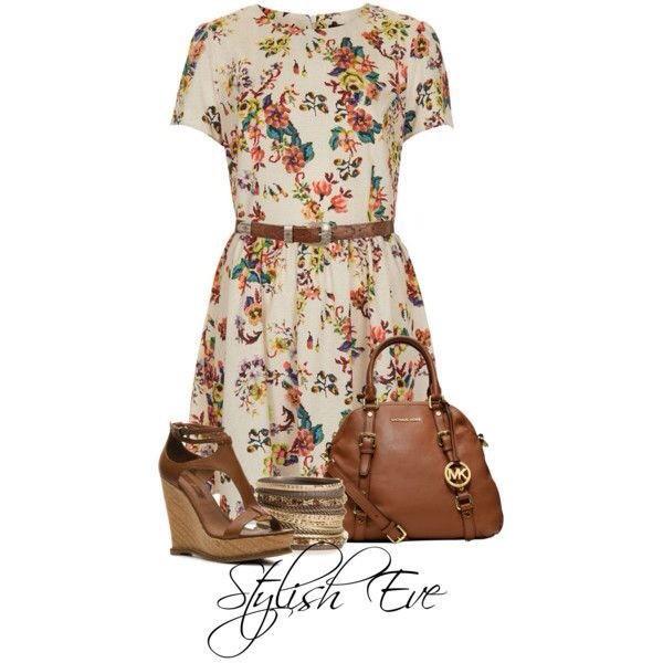 dress summer dress flowers jewels shoes