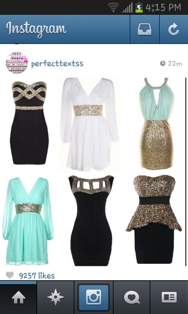 dress glitter short party dresses