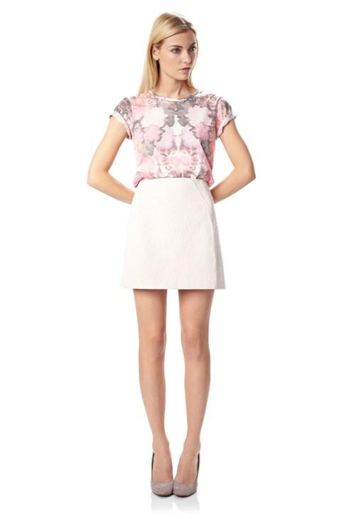 Natsue Mini Skirt - Shorts & Skirts - French Connection