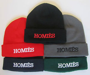 HOMIES BEANIE WOOLLY HAT IN FIVE COLOUR | eBay