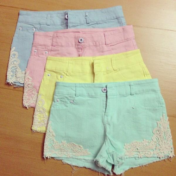 shorts candy shorts summer pants