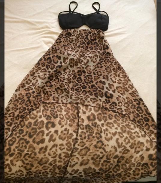 dress leopard print dress love culture