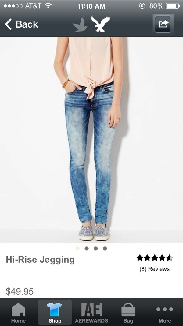 jeans american rage washed out skinny