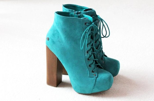 shoes turquoise jeffrey campbell