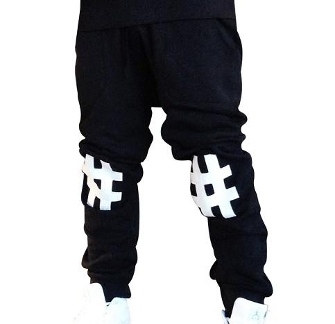 #'s Sweatpants (Blk)