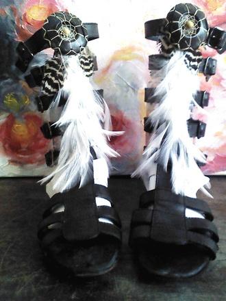 shoes free shipping celebration giveaway win beach festival etsy gladiators boho bohemian gypsy hippie native ethnic etnico cover sandals shoe covers shoe belts handamade