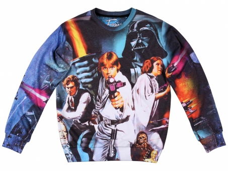Original SEXY SWEATER STAR WARS | Fusion® clothing!
