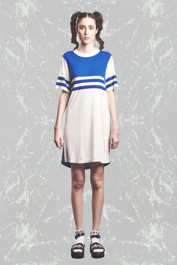 dress new wave tee dress by  house of cards sport dress contrast dress
