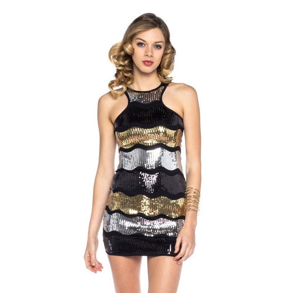 dress gatsby sequins makeup table vanity row dress to kill rock vogue style party night little black dress