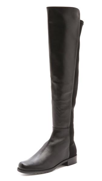 Stuart Weitzman 5050 Flat Boots   SHOPBOP
