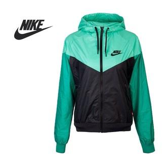 jacket windrunner nike black mint nikewindrunner women's women