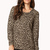 Zippered Leopard Sweatshirt | FOREVER21 - 2000050711