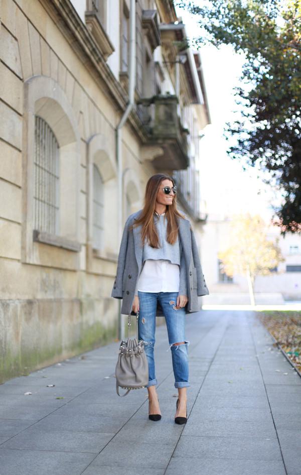 b a r t a b a c t-shirt shirt jeans bag coat sunglasses