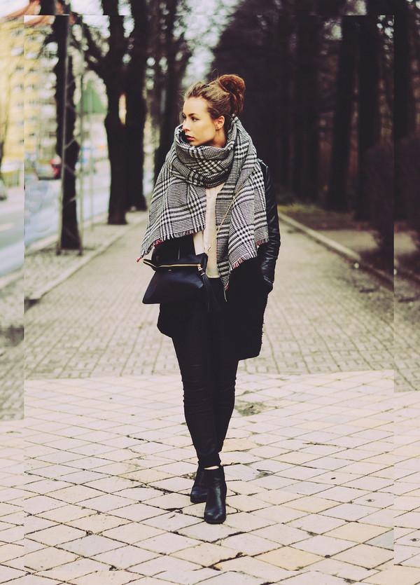 the next episode coat scarf blouse pants bag jewels shoes