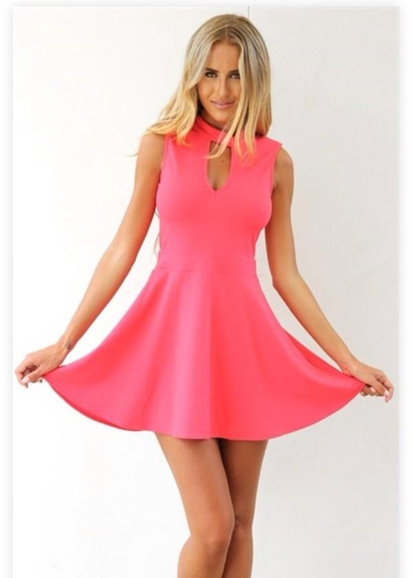 pink dress pink dress style fashion