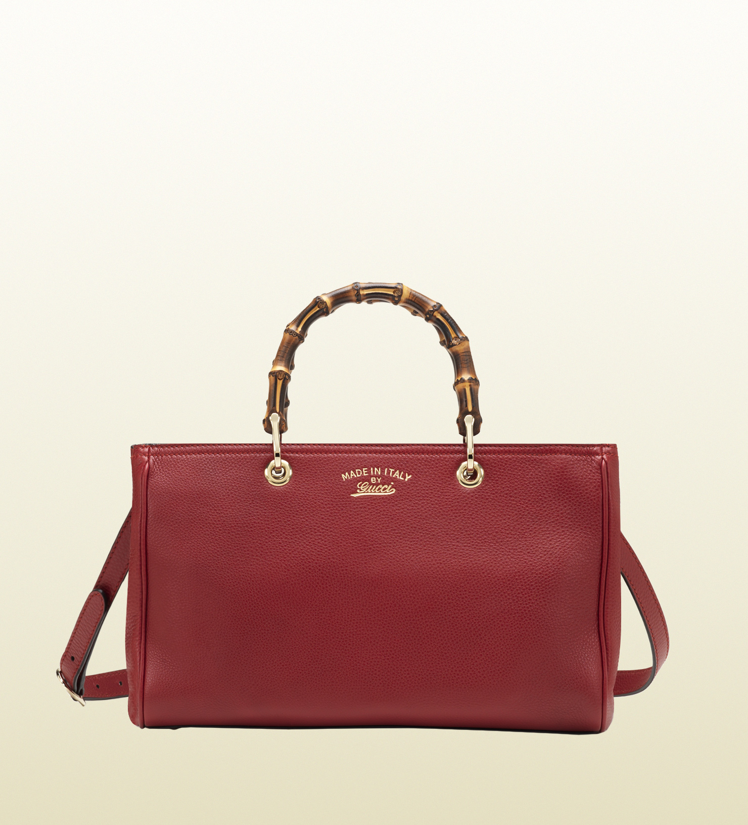 Gucci - bamboo shopper leather tote 323660A7M0G6227