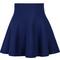 Blue high waist ruffle skirt - sheinside.com