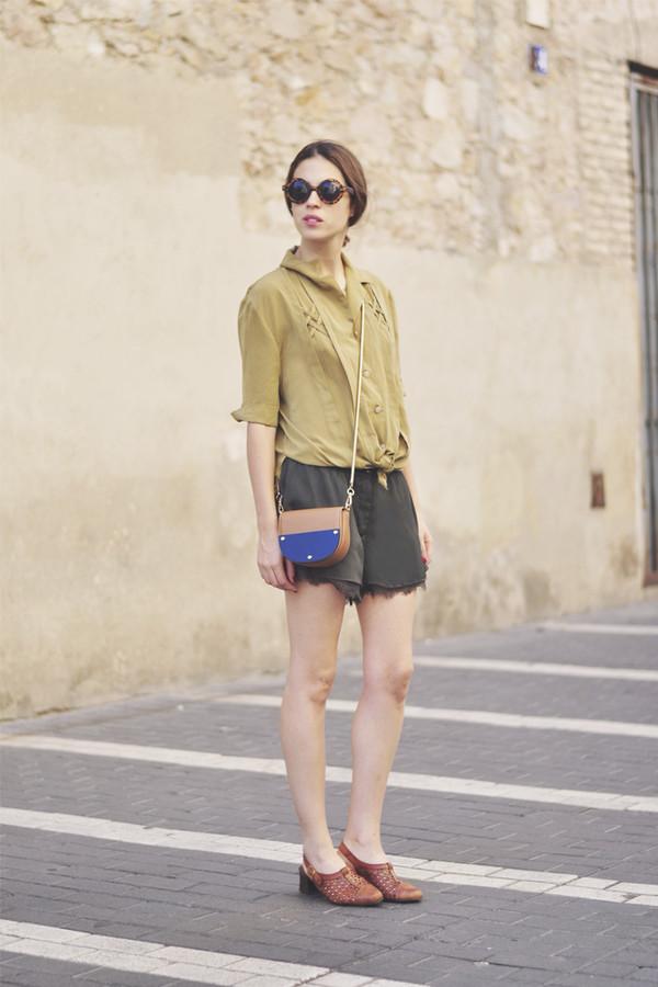 dansvogue blouse shoes bag sunglasses