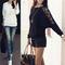 Hot women girl high waist oversize crimping boyfriend jeans pants shorts 2040 j | ebay
