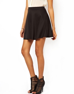 Club L | Club L Skater Skirt at ASOS