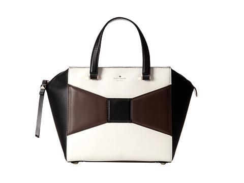 Kate Spade New York 2 Park Avenue Beau Bag Dark N Stormy/Cream/Black - Zappos Couture