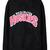 Black WASHINGTON HUSKIES Print Hoodie Sweatshirt - Sheinside.com