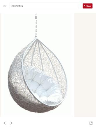 home accessory chair cozy trendy tumblr white eggshell happy love wicker amazing